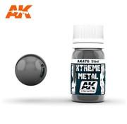 AK INTERACTIVE (AKI) 476 Xtreme Metal Steel Metallic Paint 30ml Bottle