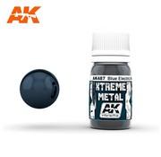 AK INTERACTIVE (AKI) 487 Xtreme Metal Blue Electric Metallic Paint 30ml Bottle
