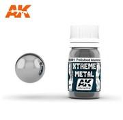 AK INTERACTIVE (AKI) 481 Xtreme Metal Polished Aluminum Metallic Paint 30ml Bottle