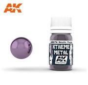 AK INTERACTIVE (AKI) 674 Xtreme Metal Purple Metallic Paint 30ml Bottle