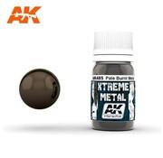 AK INTERACTIVE (AKI) 485 Xtreme Metal Pale Burnt Metal Metallic Paint 30ml Bottle