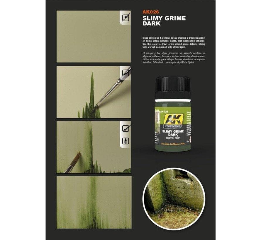 26 Slimy Grime Dark Enamel Paint 35ml Bottle