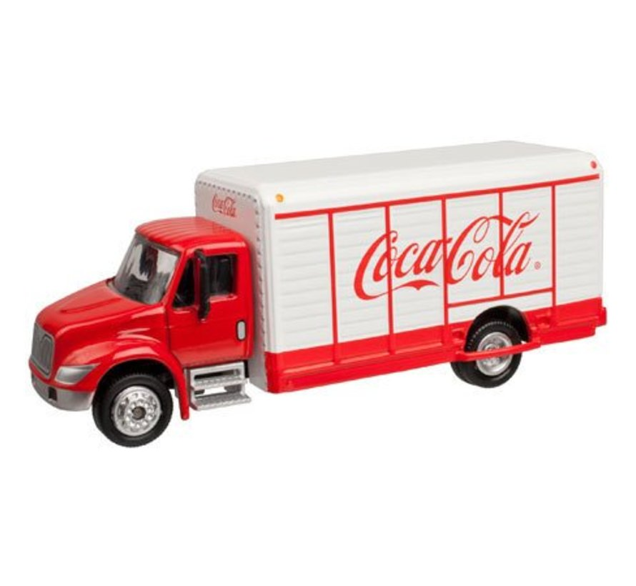 HO Scale Coca-Cola Beverage Truck 1/87