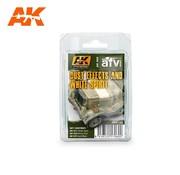 AK INTERACTIVE (AKI) 60 Dust Effects & White Spirit Enamel Paint Set (11, 15, 22)