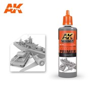 AK INTERACTIVE (AKI) 175 Grey Acrylic Primer 60ml Bottle