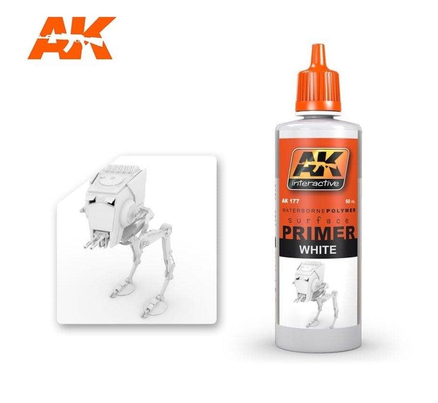 177 White Acrylic Primer 60ml Bottle