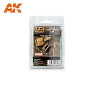 AK INTERACTIVE (AKI) 260 Wood Weathering Enamel Paint Set (3 Colors) 35ml Bottle
