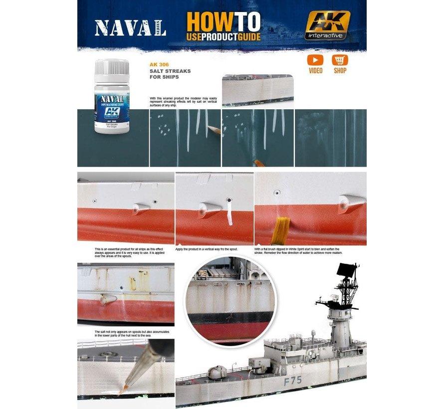 306 Ships Salt Streaks Enamel Paint 35ml Bottle