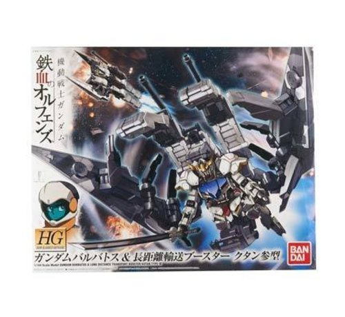 BANDAI MODEL KITS 201891 HG Orphans 1/144 Gundam Barbatos + Booster