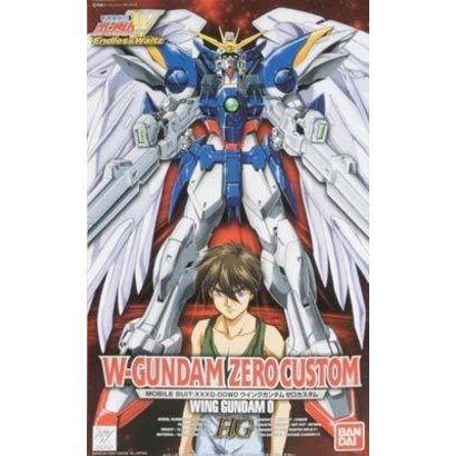 BANDAI MODEL KITS 57137 HG 1/100 Wing Gundam Zero Custom Endless Waltz