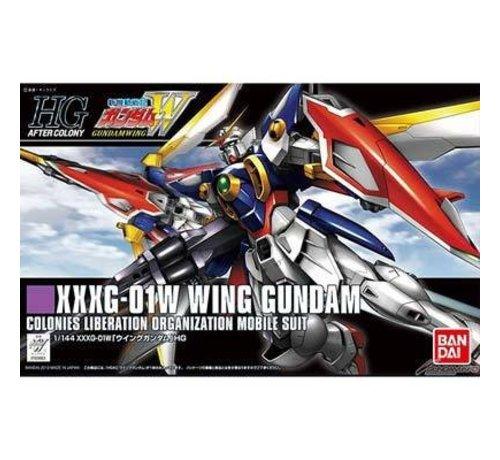"""BANDAI MODEL KITS 183663 #162 Wing Gundam """"Gundam Wing"""" Bandai HGAC"""