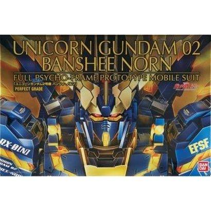 "BANDAI MODEL KITS 200641 PG 1/60 Unicorn Gundam 02 Banshee Norn ""Gundam U"