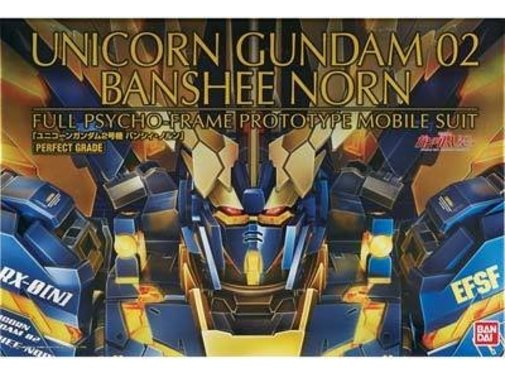BANDAI MODEL KITS Unicorn Gundam 02 Banshee PG