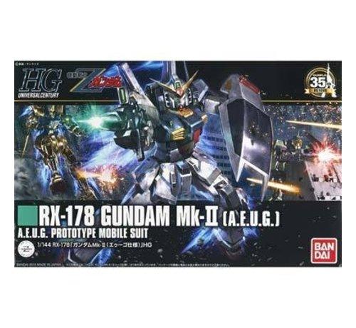 "BANDAI MODEL KITS 201311 #193 Gundam Mk-II AEUG ""Z Gundam"" Bandai HGUC"