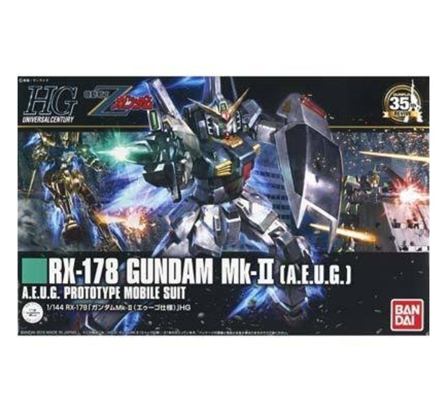 "201311 #193 Gundam Mk-II AEUG ""Z Gundam"" Bandai HGUC"