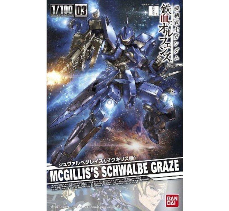 205977 1/100 #03 Schwalbe Graze McGillis Custom