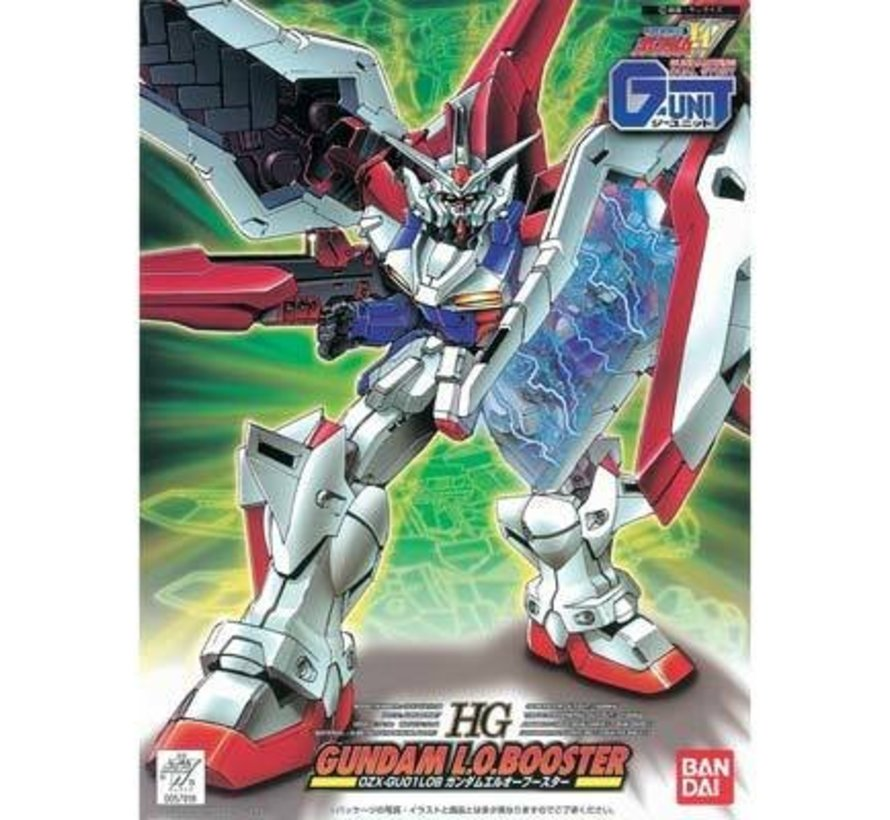 057918 HG 1/144 L.O. Booster Gundam Wing G-Unit