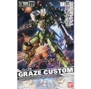 BANDAI MODEL KITS 1/100 Graze Custom Gundam Ion Blooded Orphans