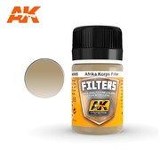 AK INTERACTIVE (AKI) 65 Afrika Korps Filter Enamel Paint 35ml Bottle