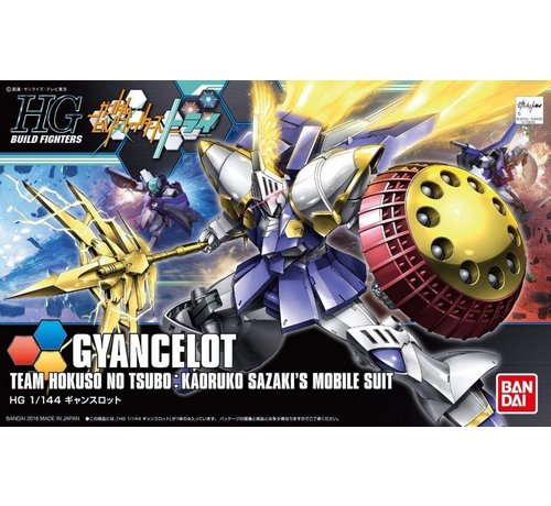 BANDAI MODEL KITS 210524 1/144 HGBF GYANCELOT