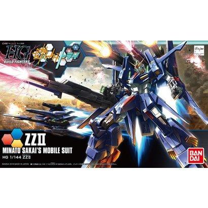 BANDAI MODEL KITS 209074  HG Minato Sakai's ZZII 1:144