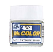Mr. Hobby GSI - GNZ C62 Flat White 10ml  Mr.Color