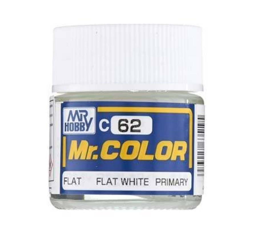 C62 Flat White 10ml  Mr.Color
