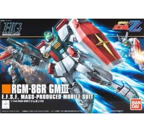 BANDAI MODEL KITS 170396 1/144 HGUC #126 RGM-86R GM III