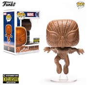 Funko Pop! Spider-Man Wood Deco Pop! - Entertainment Earth Exclusive