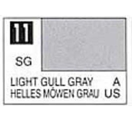 Mr. Hobby GSI - GNZ C11 Semi-Gloss Light Gull Gray 10ml , GSI Mr. Color