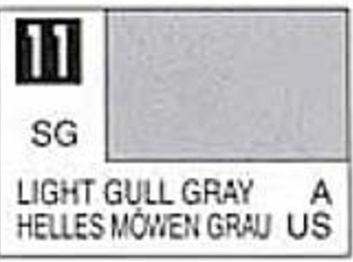 Mr. Hobby GSI - GNZ C11 Semi-Gloss Light Gull Gray 10ml