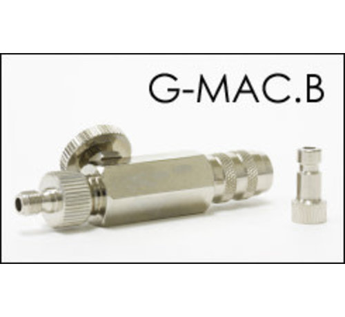 Grex Airbrush G-MAC.B - For Badger airbrush and hose MAC Valve w/ Quick Connect Coupler & Plug