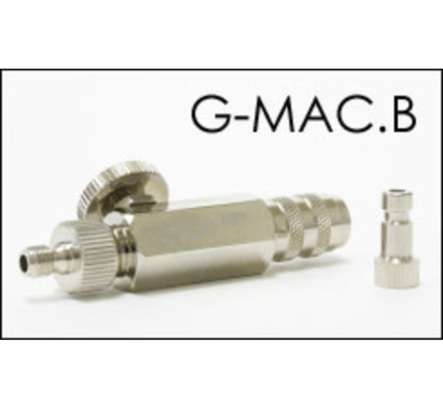 G-MAC.B - For Badger airbrush and hose MAC Valve w/ Quick Connect Coupler & Plug