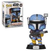 Funko Pop! Star Wars: The Mandalorian Heavy Infantry Mandalorian Pop!