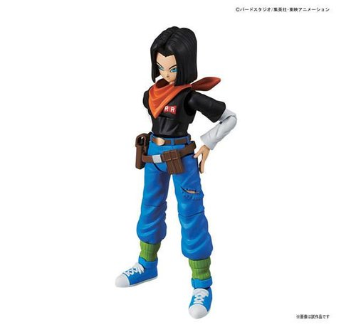 BANDAI MODEL KITS 215638 Android #17 Dragon Ball  Bandai Figure-rise Standard