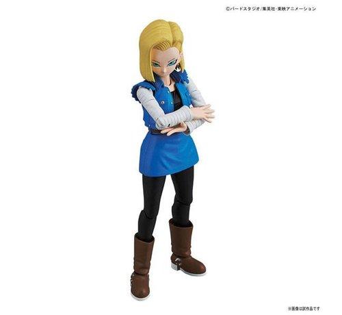 BANDAI MODEL KITS 215639 Android #18  Dragon Ball Bandai Figure-rise Standard