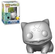 Funko Pop! Pokemon Bulbasaur Metallic Silver Pop!