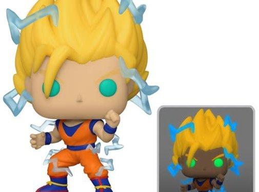Funko Pop! Dragon Ball Z Super Saiyan 2 Goku Pop! - Previews Exclusive