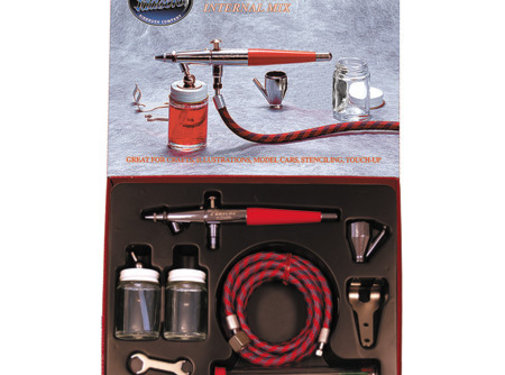 Paasche (PAS) VLSET VL Double Action Siphone Feed Airbrush Set