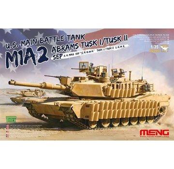 MENG MODEL (MGK) TS026 M1A2 SEP Abrams TUSK I/TUSK II 1/35