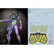 Super Indoors Men Pro (SIM) C39 RG EVO-01 Evangelion 01 Decal