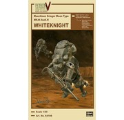 Hasegawa (HSG) Robot Battle V: Maschinen Krieger Type Mk44 AusfH Whiteknight 1/20 (Ltd Edition)