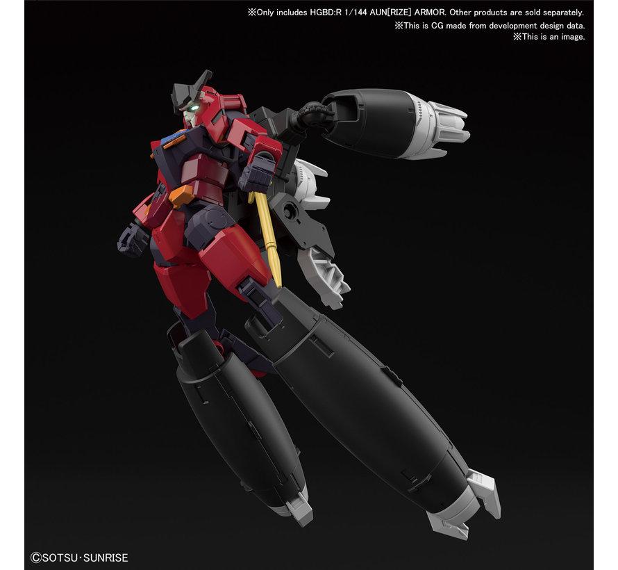 "5060432 #35 Aun[RIZE] Armor ""Gundam Build Divers RE:Rise"", Bandai Spirits HGBD 1/144"