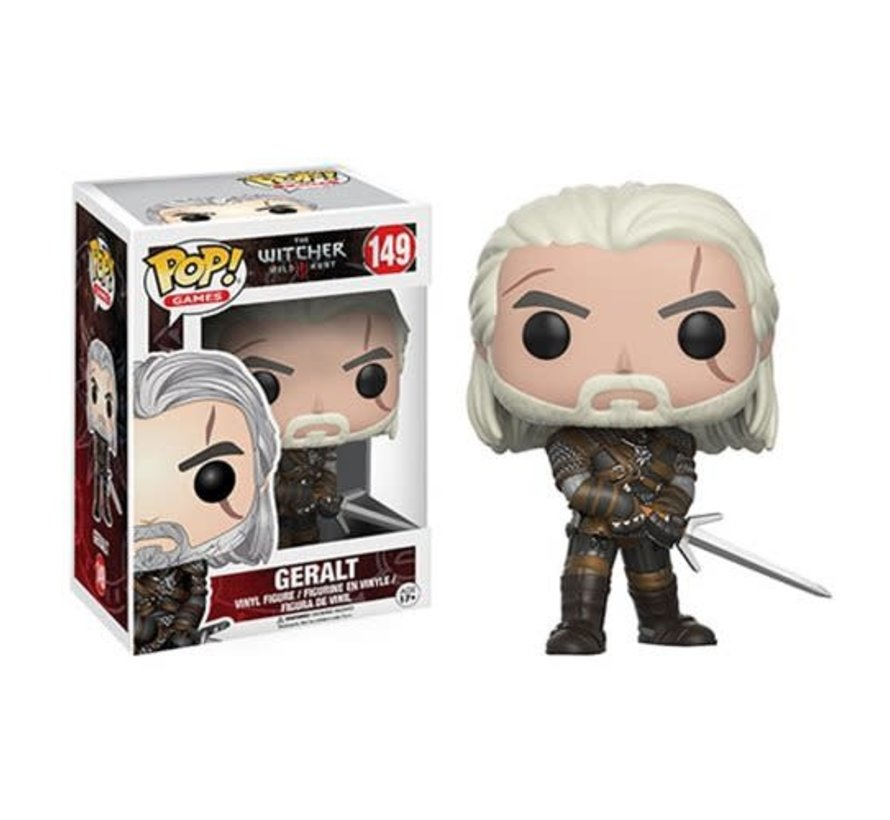 12134 Witcher Geralt Pop! Vinyl Figure