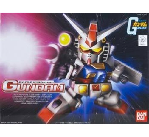 BANDAI MODEL KITS 160227 BB#329 RX-78-2 Gundam Animation Color SD