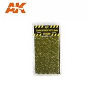 AK INTERACTIVE (AKI) Diorama Series  Summer Green Tufts 2mm (Self Adhesive)