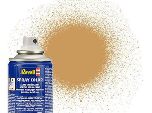 RMX- Revell SPRAY OCHRE BROWN MAT