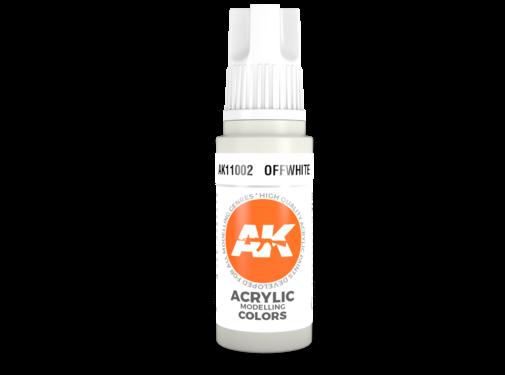 AK INTERACTIVE (AKI) 3rd Gen Acrylic Offwhite 17ml