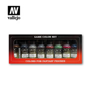 VALLEJO ACRYLIC (VLJ) Game Color washes - Set