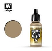 VALLEJO ACRYLIC (VLJ) Sand Yellow - Model Air